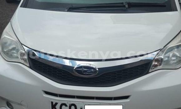 Buy Used Subaru Trezia White Car in Nairobi in Nairobi