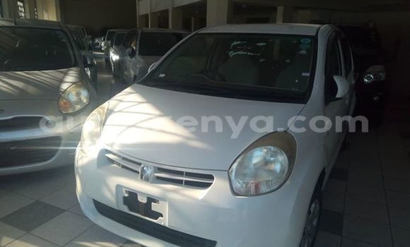 Buy Used Toyota Passo White Car in Mombasa in Coastal Kenya