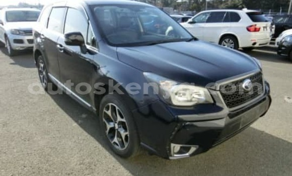 Buy Used Subaru Forester Black Car in Mombasa in Coastal Kenya