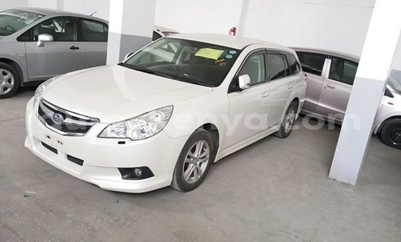 Buy Used Subaru Legacy White Car in Mombasa in Coastal Kenya