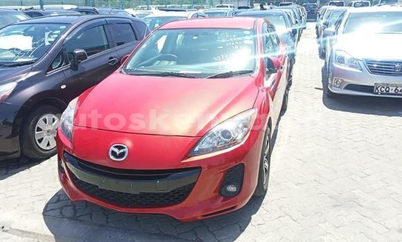 Buy Used Mazda Axela Red Car in Mombasa in Coastal Kenya
