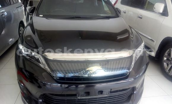 Buy Used Toyota Harrier Black Car in Mombasa in Coastal Kenya