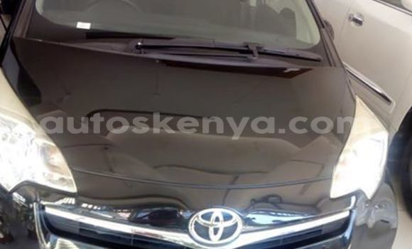 Buy Used Toyota Ractis Black Car in Mombasa in Coastal Kenya