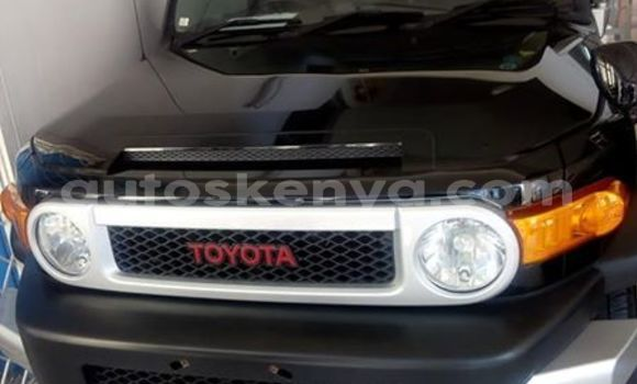 Buy Used Toyota FJ Cruiser Black Car in Mombasa in Coastal Kenya