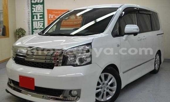 Buy Used Toyota Voxy White Car in Mombasa in Coastal Kenya