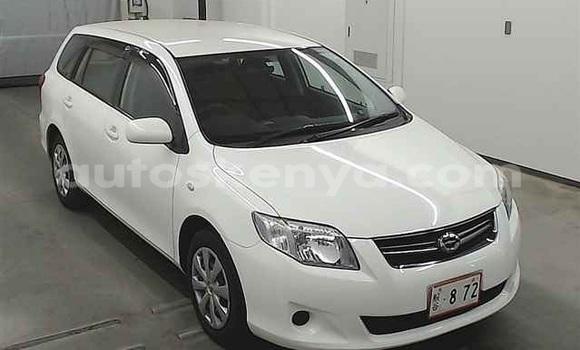 Buy Used Toyota Fielder White Car in Mombasa in Coastal Kenya