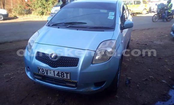 Buy Used Toyota Vitz Blue Car in Nairobi in Nairobi