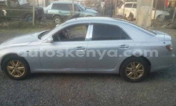 Buy Used Toyota Mark X Silver Car in Nairobi in Nairobi