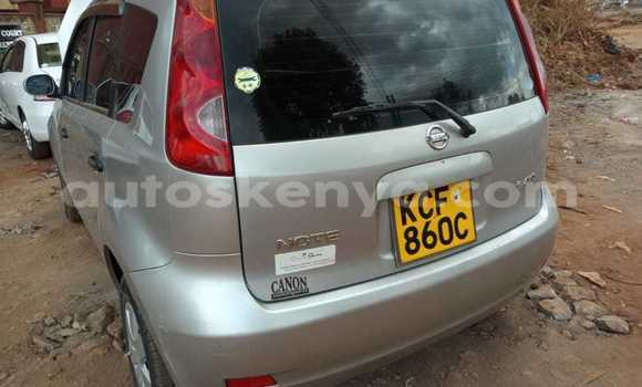 Buy Used Nissan Note Silver Car in Nairobi in Nairobi