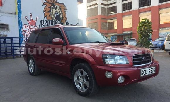 Buy Used Subaru Forester Red Car in Nairobi in Nairobi