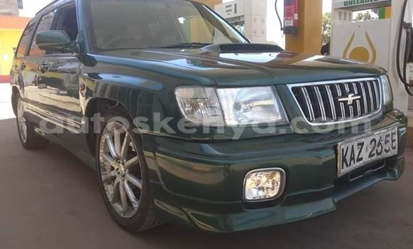 Buy Used Subaru Forester Green Car in Nairobi in Nairobi