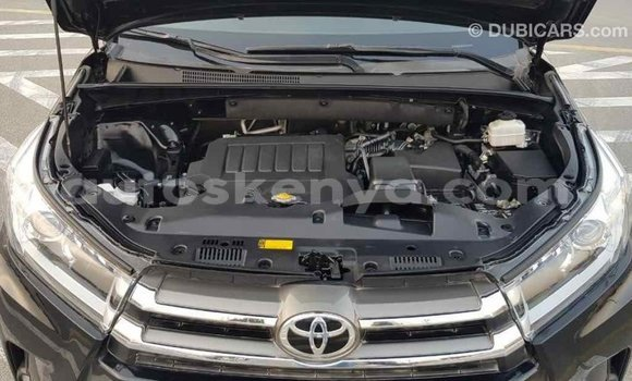 Buy Import Toyota Highlander Black Car in Import - Dubai in Central Kenya