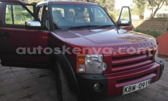 Buy Used Land Rover Range Rover Sport Red Car in Nairobi in Nairobi