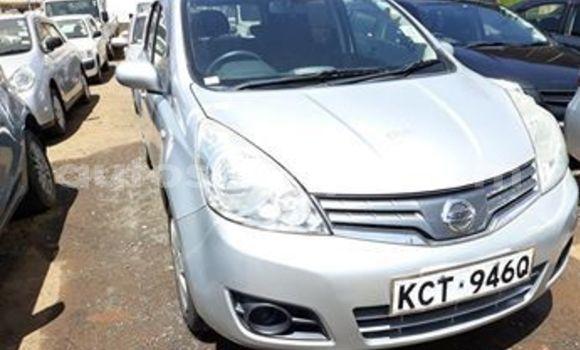 Buy Used Nissan Note Silver Car in Nairobi in Nairobi