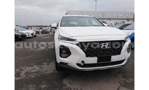 Buy Import Hyundai Santa Fe White Car in Import - Dubai in Central Kenya