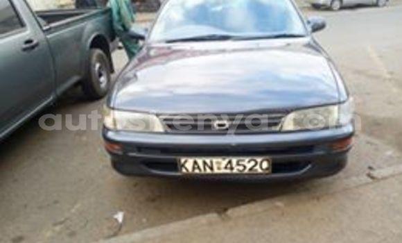Buy Used Toyota Corolla Blue Car in Nairobi in Nairobi