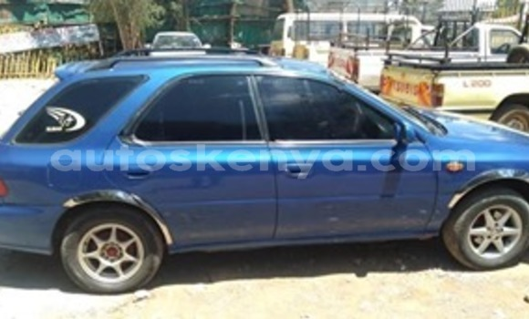 Buy Used Subaru Impreza Blue Car in Nairobi in Nairobi