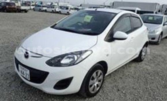 Buy Used Mazda Demio White Car in Mombasa in Coastal Kenya