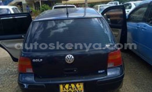 Buy Used Volkswagen Golf Blue Car in Ruiru in Nairobi