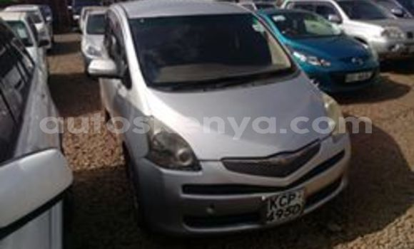 Buy Used Toyota Ractis Silver Car in Thika in Nairobi