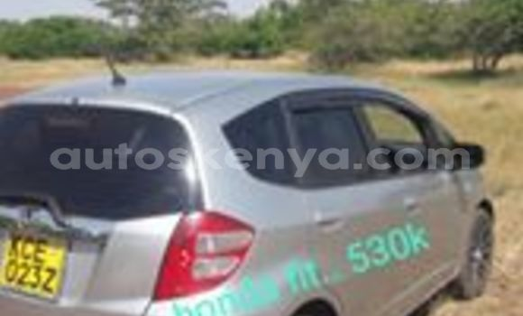 Buy Used Honda Fit Silver Car in Nairobi in Nairobi