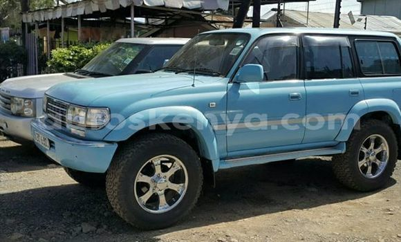 Buy New Toyota Land Cruiser Blue Car in Nairobi in Nairobi