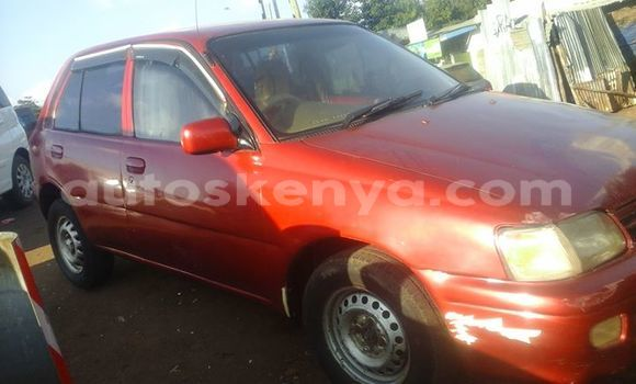 Buy Used Toyota Starlet Red Car in Ol Kalou in Central Kenya
