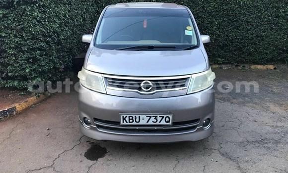 Buy Used Nissan Serena Silver Car in Nairobi in Nairobi