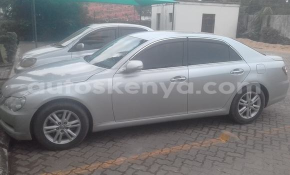 Buy Used Toyota Mark X Silver Car in Mombasa in Coastal Kenya