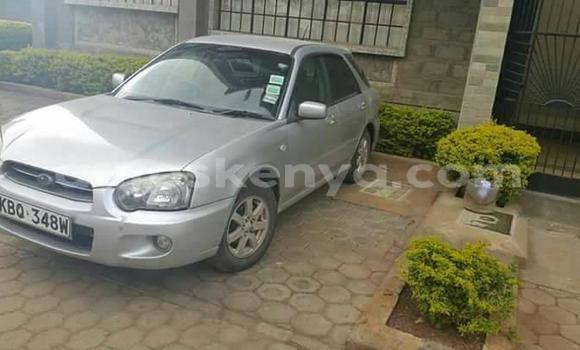 Buy Used Subaru Impreza Silver Car in Nairobi in Nairobi