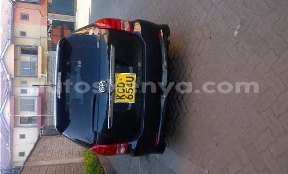 Buy Used Toyota Wish Black Car in Nairobi in Nairobi