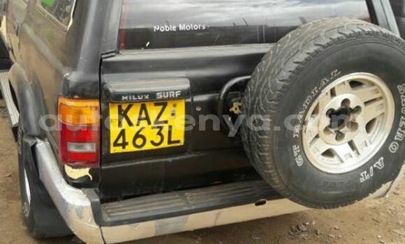Buy Used Toyota Surf Black Car in Ol Kalou in Central Kenya