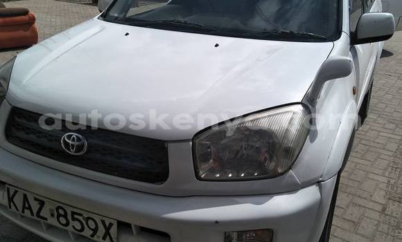 Buy Used Toyota RAV4 White Car in Ol Kalou in Central Kenya
