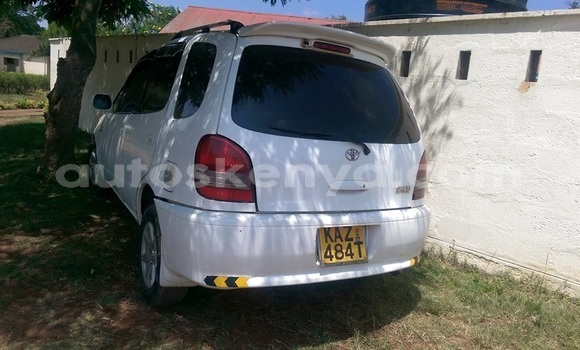 Buy Used Toyota Spacio White Car in Ol Kalou in Central Kenya