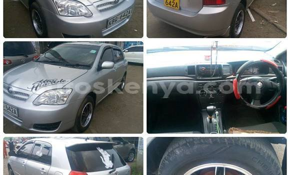 Buy Used Toyota Runx Silver Car in Ol Kalou in Central Kenya