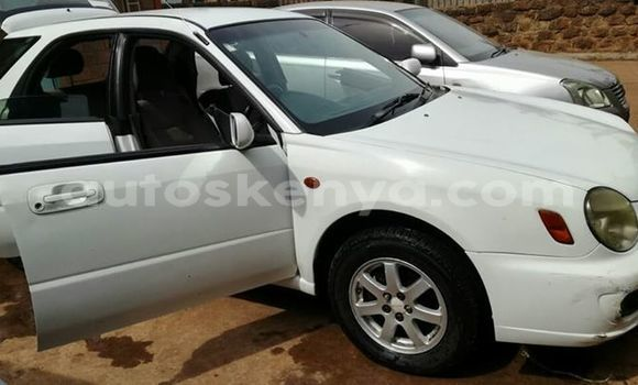 Buy Used Subaru Impreza White Car in Ol Kalou in Central Kenya