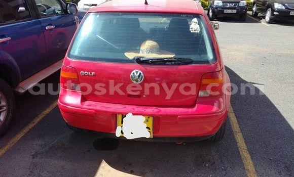 Buy Used Volkswagen Golf Red Car in Ol Kalou in Central Kenya