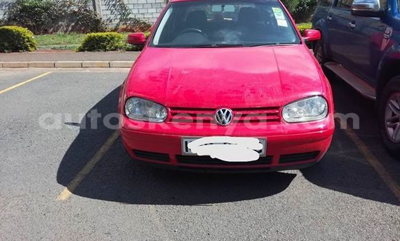 Buy Used Volkswagen Golf Red Car in Ol Kalou in Central Kenya