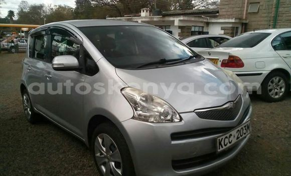 Buy Used Toyota Ractis Silver Car in Ol Kalou in Central Kenya