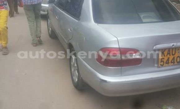 Buy Used Toyota Corolla Silver Car in Ol Kalou in Central Kenya