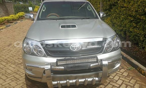 Buy Used Toyota Fortuner Silver Car in Ol Kalou in Central Kenya