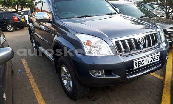 Buy Used Toyota Land Cruiser Prado Black Car in Ol Kalou in Central Kenya