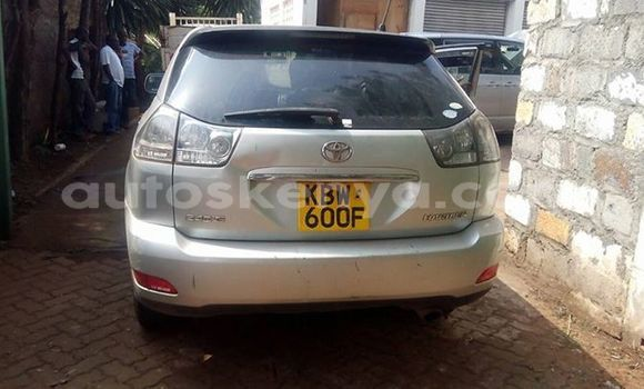 Buy Used Toyota Harrier Silver Car in Ol Kalou in Central Kenya