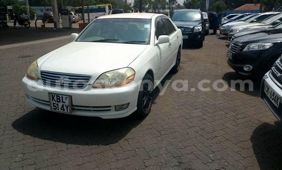 Buy Used Toyota Mark II White Car in Ol Kalou in Central Kenya