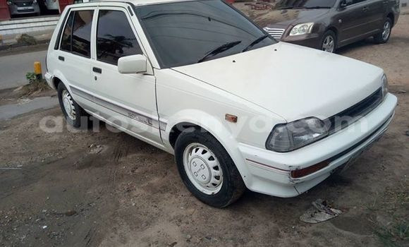Buy Used Toyota Starlet White Car in Ol Kalou in Central Kenya