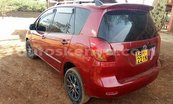 Buy Used Toyota Spacio Red Car in Ol Kalou in Central Kenya