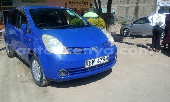 Buy Used Nissan Note Silver Car in Ol Kalou in Central Kenya