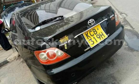 Buy Used Toyota Mark X Black Car in Ol Kalou in Central Kenya