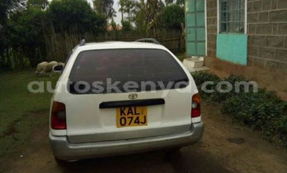 Buy Used Toyota Corolla White Car in Ol Kalou in Central Kenya