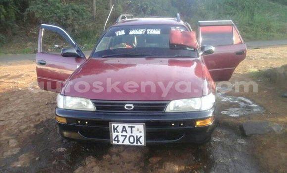 Buy Used Toyota Corolla Red Car in Ol Kalou in Central Kenya